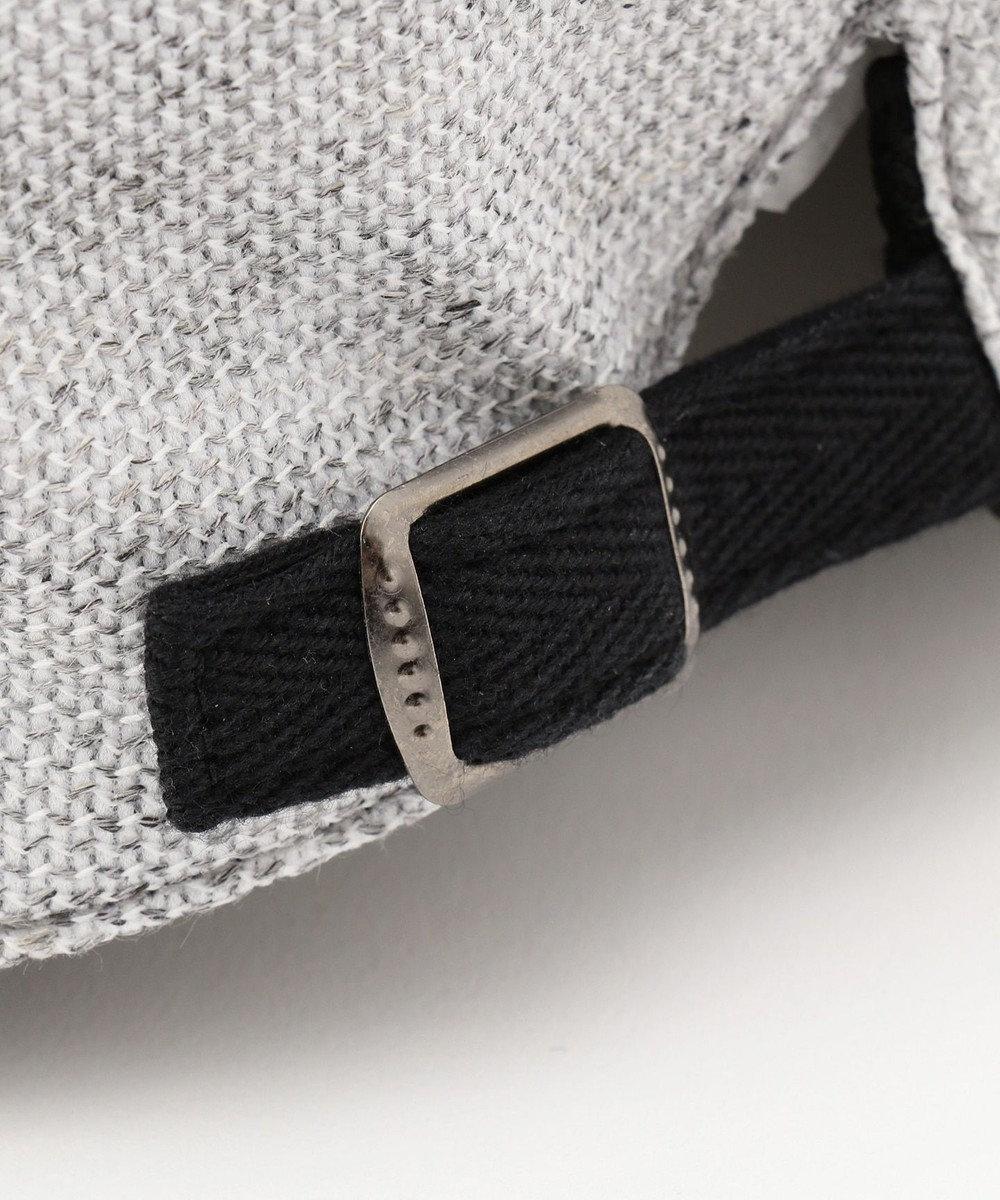 JOSEPH ABBOUD 【Made in Japan】リネンTOPラッセル ハンチング帽 ライトグレー系