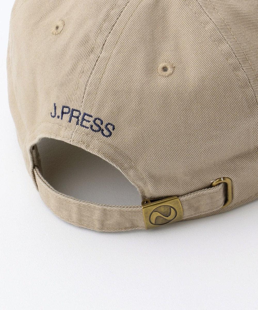 J.PRESS MEN 【一部店舗・WEB限定】J.PRESS HOUSE ブルロゴ キャップ ベージュ系