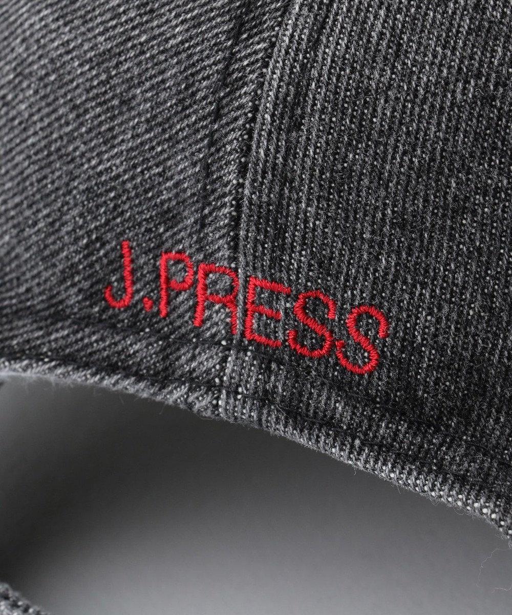 J.PRESS MEN 【一部店舗・WEB限定】J.PRESS HOUSE ブルロゴデニム キャップ グレー系