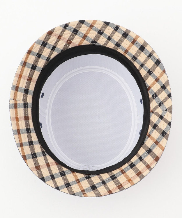 DAKS コットン/ リネン バスケットサハリ ハット