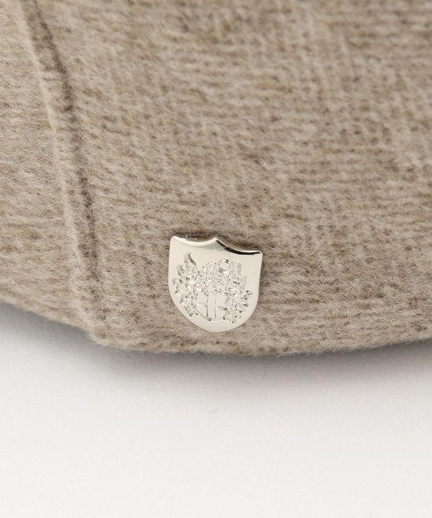 DAKS Super120s ヘリンボーンビーバー ハンチング帽