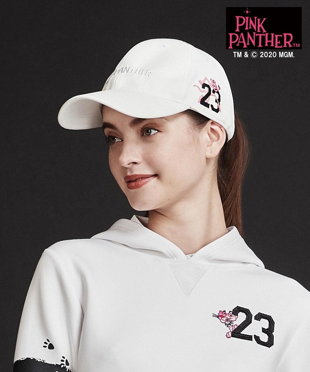 23区GOLF 【23区GOLF× pink panther】【UNISEX】キャップ ホワイト系