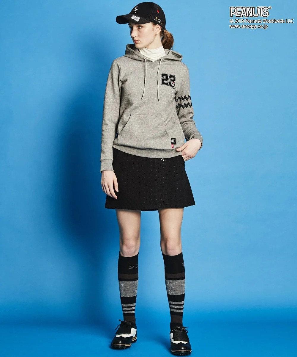 23区GOLF 【PEANUTS】【WOMEN】スヌーピー キャップ ブラック系