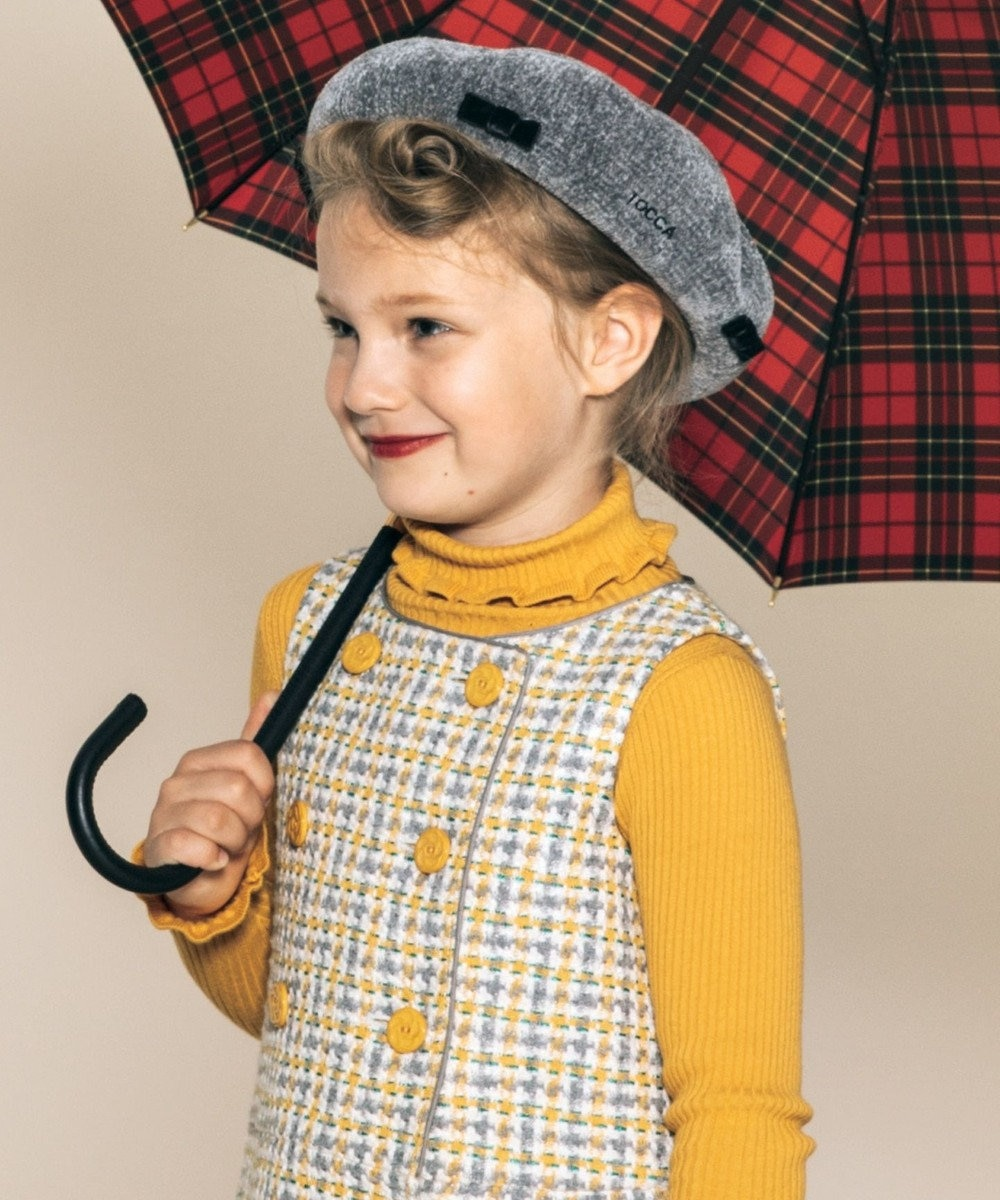 TOCCA BAMBINI 【KIDS雑貨】モールリボンベレー帽 グレー系