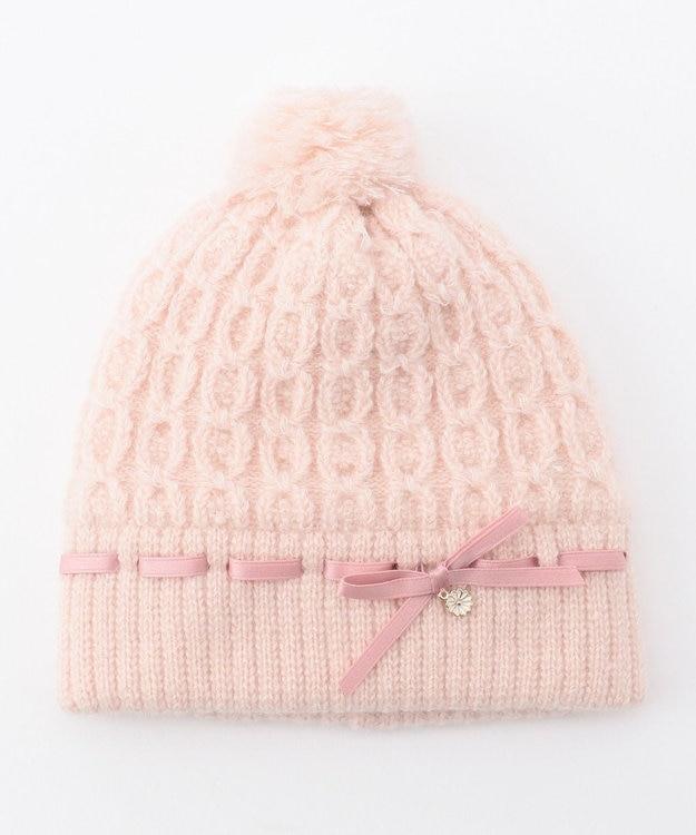 TOCCA BAMBINI ケーブルリボン ニット帽