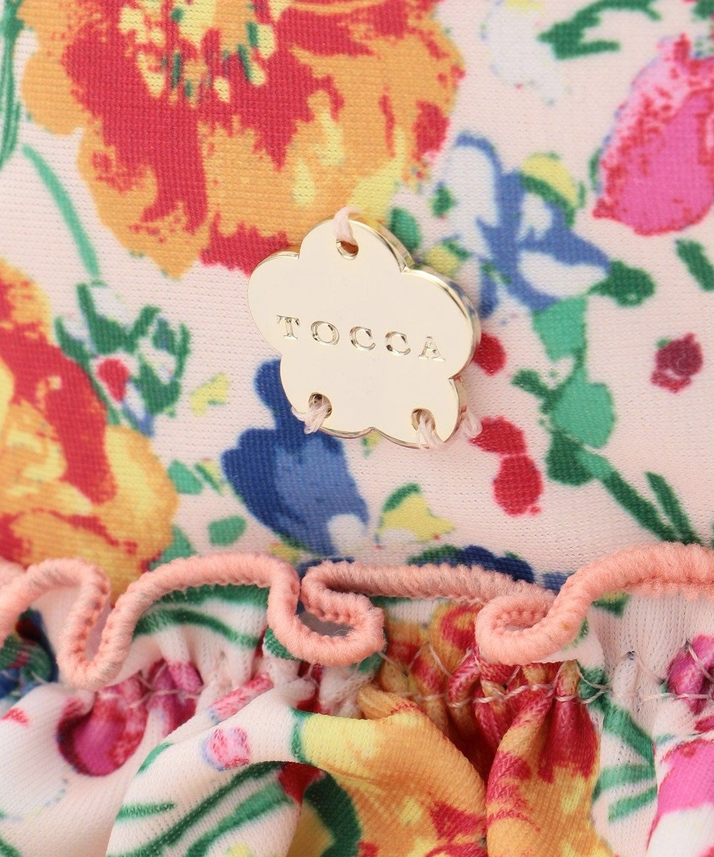 TOCCA BAMBINI 【KIDS雑貨】BloomingFlowers スイムキャップ ローズ系5
