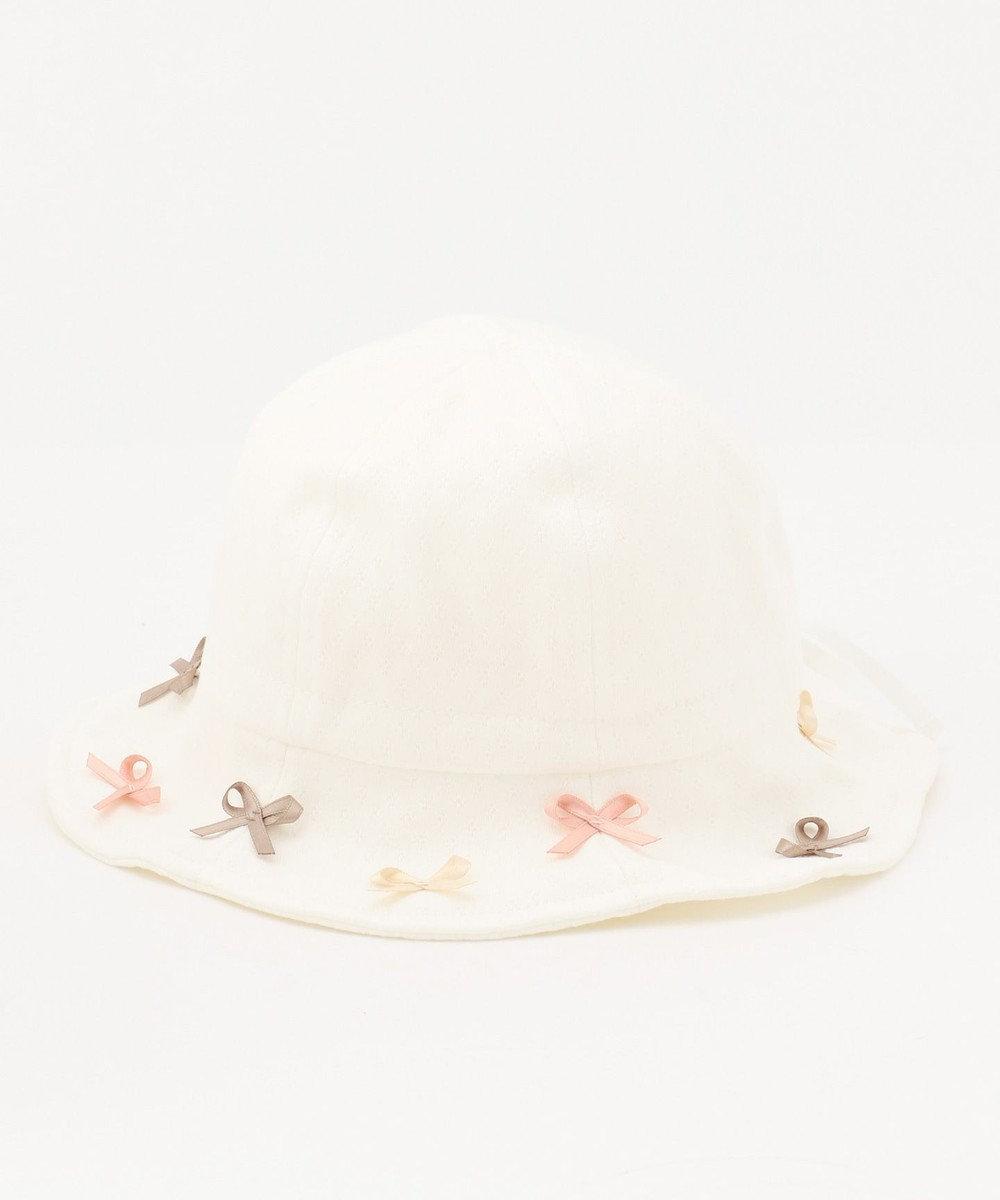 TOCCA BAMBINI 【BABY雑貨】プティリボン ハット ホワイト系