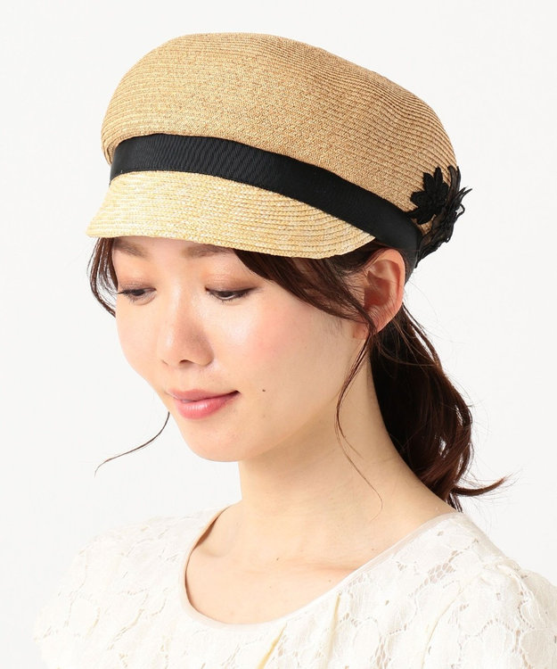 TOCCA BLOOMING CROCHET CASQUETTE キャスケット