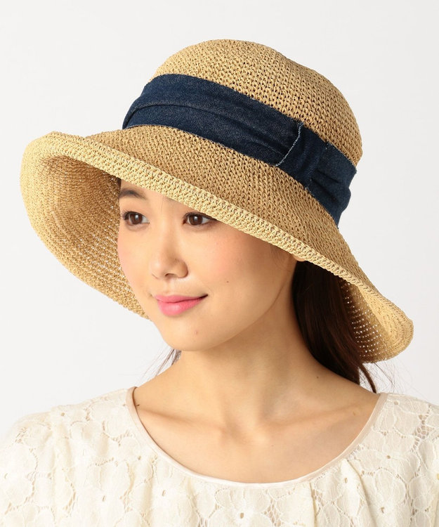 TOCCA COSAGE FLOWER HAT ハット