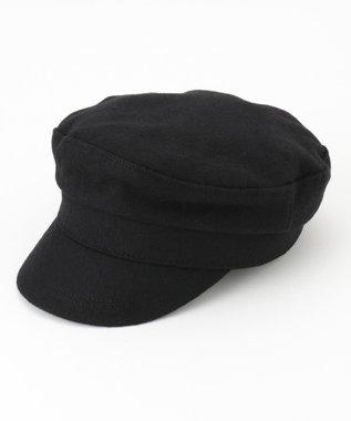 any FAM メルトンマリン キャップ ブラック系