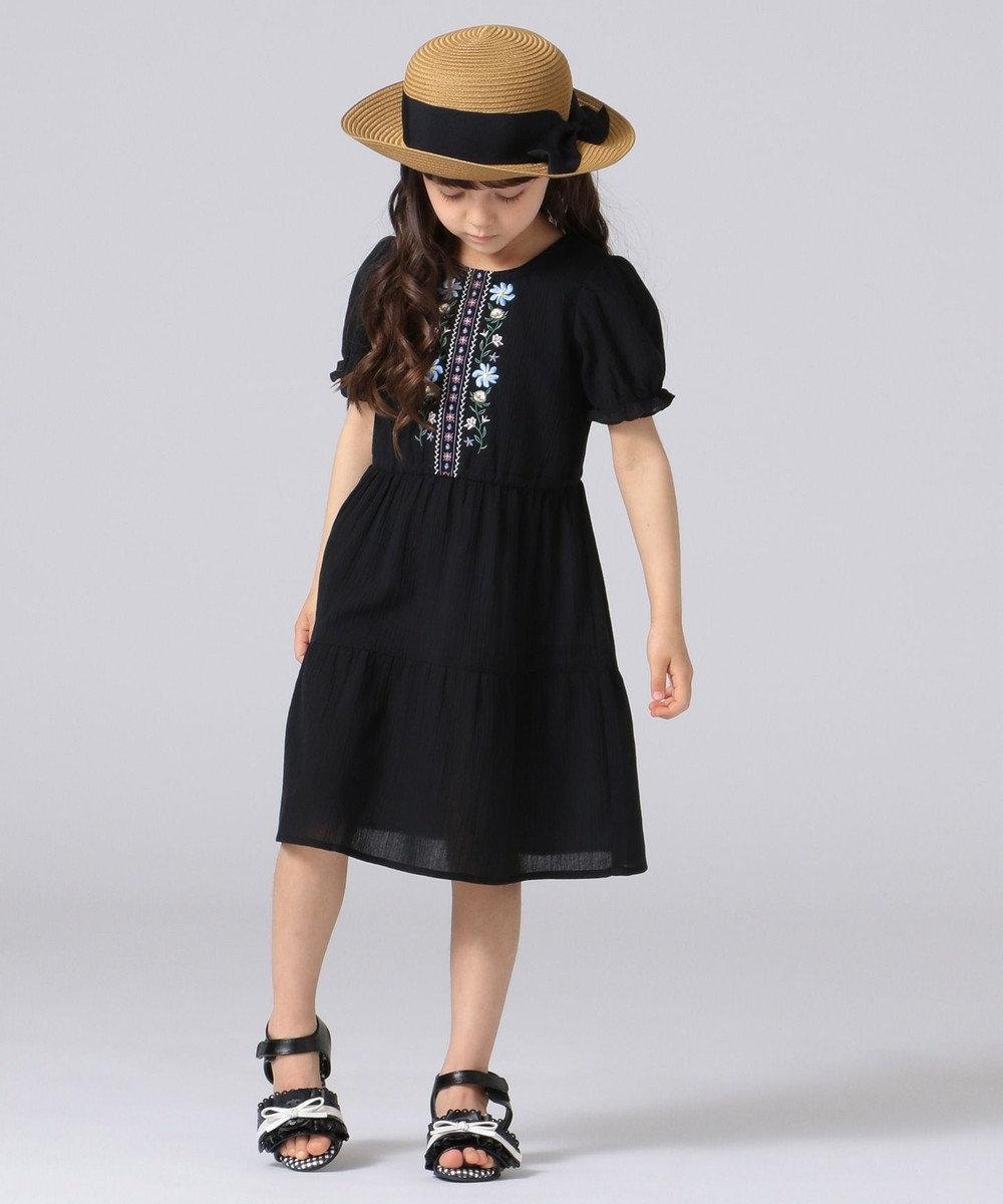 any FAM KIDS 【KIDS雑貨】洗える UVケア ブレード ハット ブラック系3