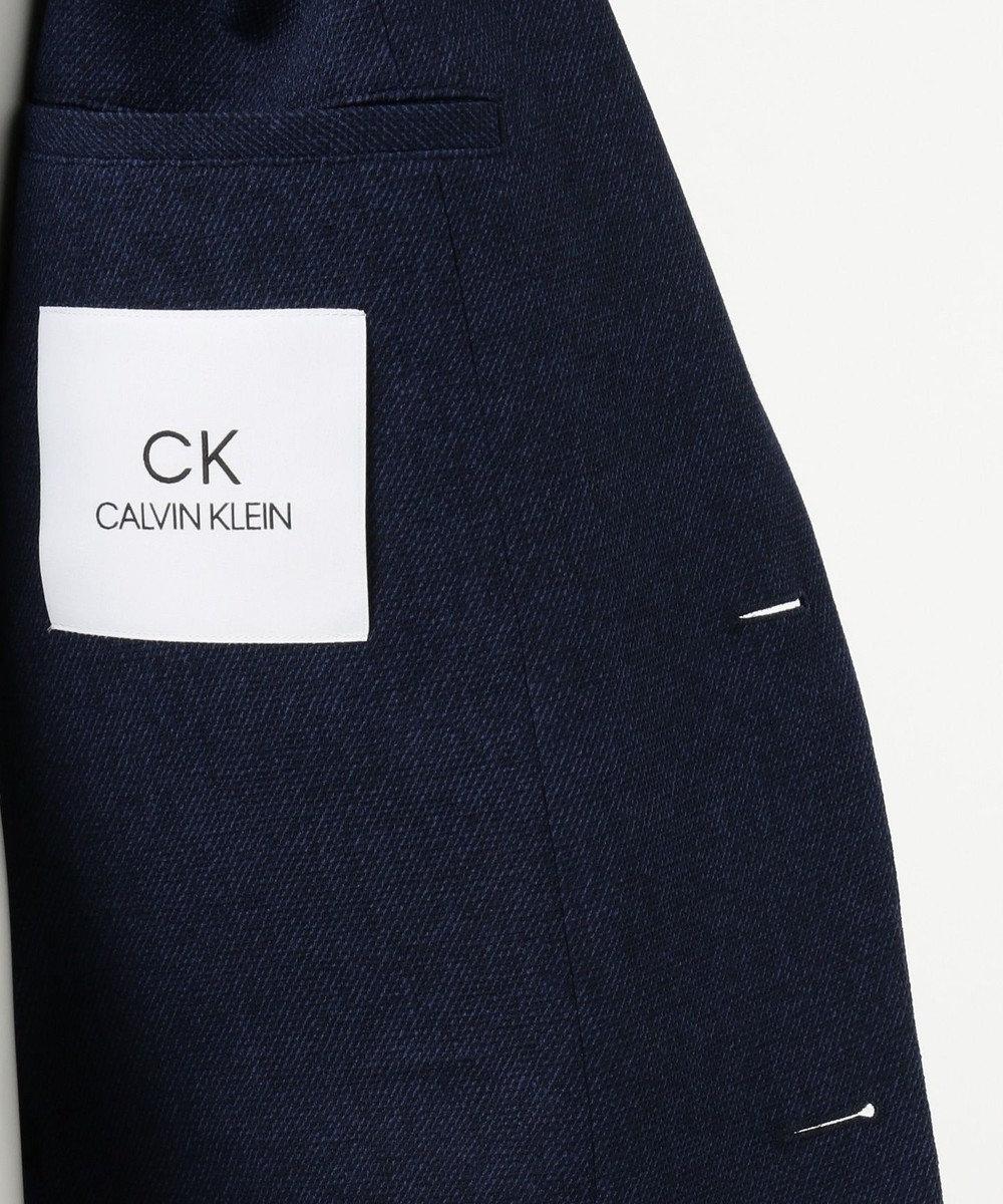 CK CALVIN KLEIN MEN 【洗える / セットアップ】テックツイードLITE ジャケット ネイビー系