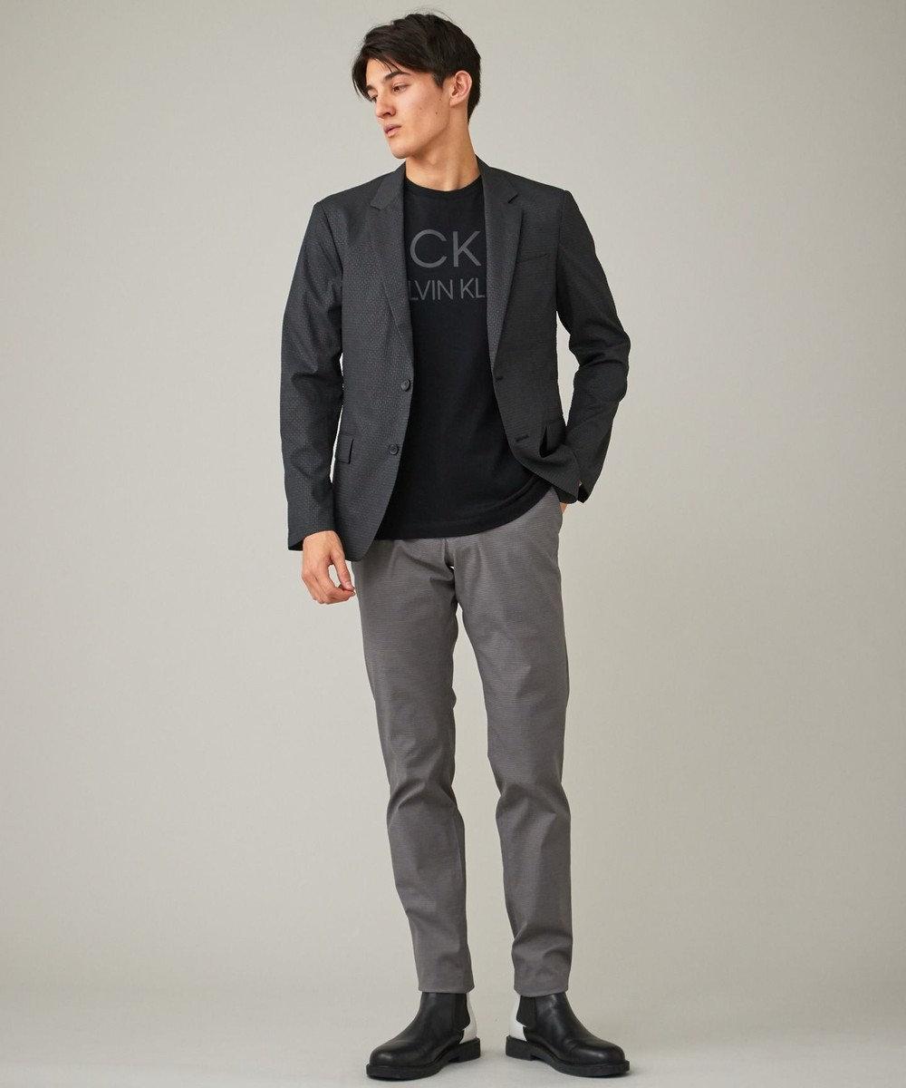 CK CALVIN KLEIN MEN 【新田真剣佑さん着用】ドットエアサッカー3Dエンボス ジャケット ブラック系5