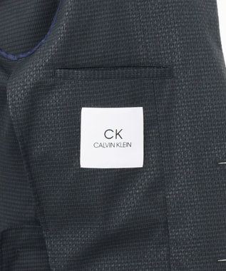 CK CALVIN KLEIN MEN 【新田真剣佑さん着用】ドットエアサッカー3Dエンボス ジャケット ネイビー系5