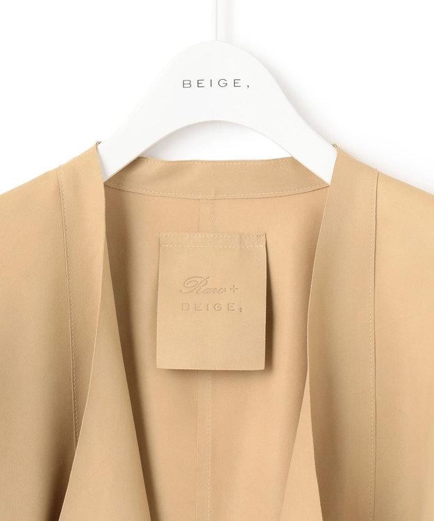 BEIGE, MAGADI / レザージャケット