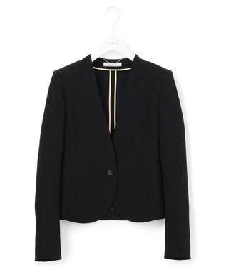 BEIGE, 【限定色あり】LUIZA / ノーカラージャケット Black