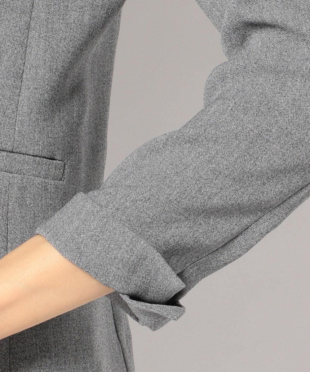 ICB 【セットアップ・洗える】【Oggi4月号掲載】Fied テーラード ジャケット グレー系9