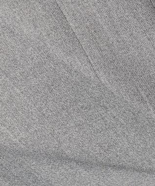 ICB 【セットアップ/洗える】【CLASSY.4月号掲載】Fied ノーカラー ジャケット グレー系9