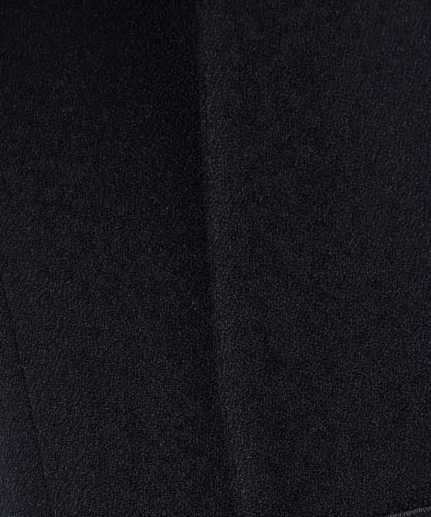 ICB 【セットアップ】Warm Georgette ノーカラー ジャケット