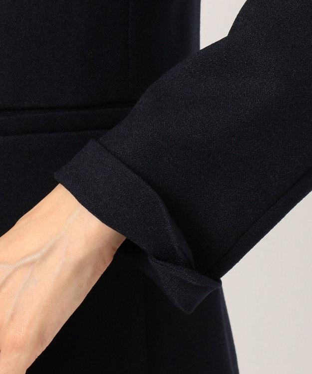 ICB L 【セットアップ】Warm Georgette ノーカラー ジャケット