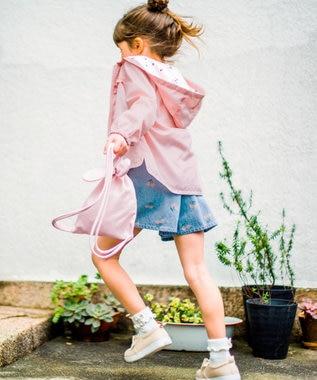 any FAM KIDS 【90~130cm】持ち運びに便利♪ウサギポシェット付きブルゾン ピンク系