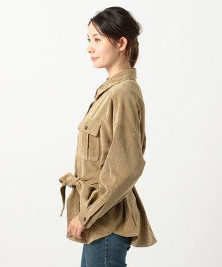 any FAM 【洗える】ライトソフトコール  ジャケット キャメル系