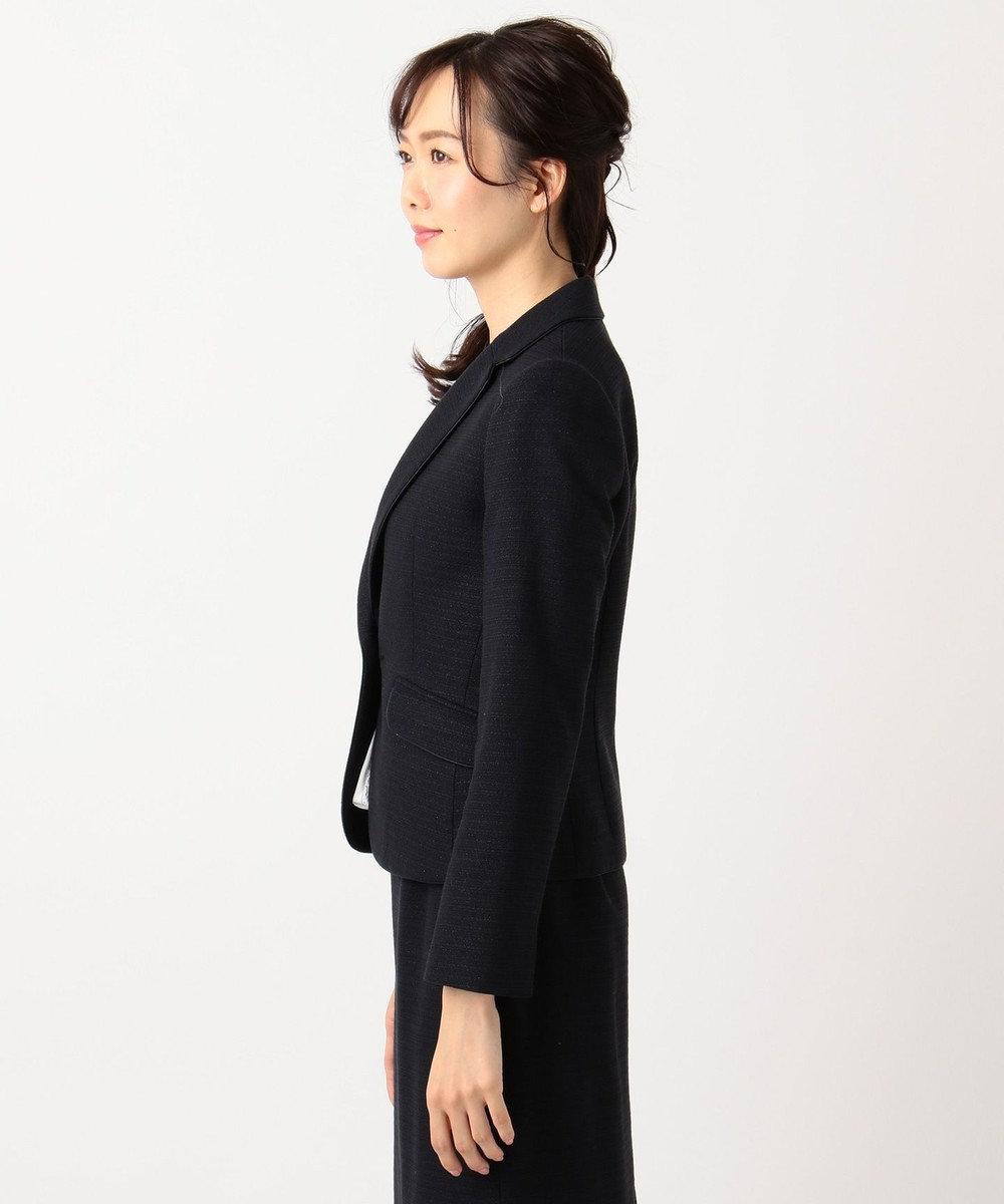 any FAM 【セレモニー】ラメブッチャー テーラードジャケット ネイビー系1