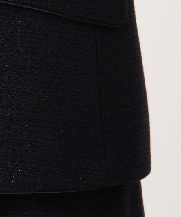 any FAM 【セレモニー】ラメブッチャー テーラードジャケット