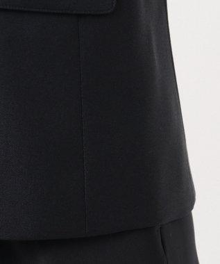 J.PRESS LADIES S ウールシルクオックスダブル テーラードジャケット ネイビー系