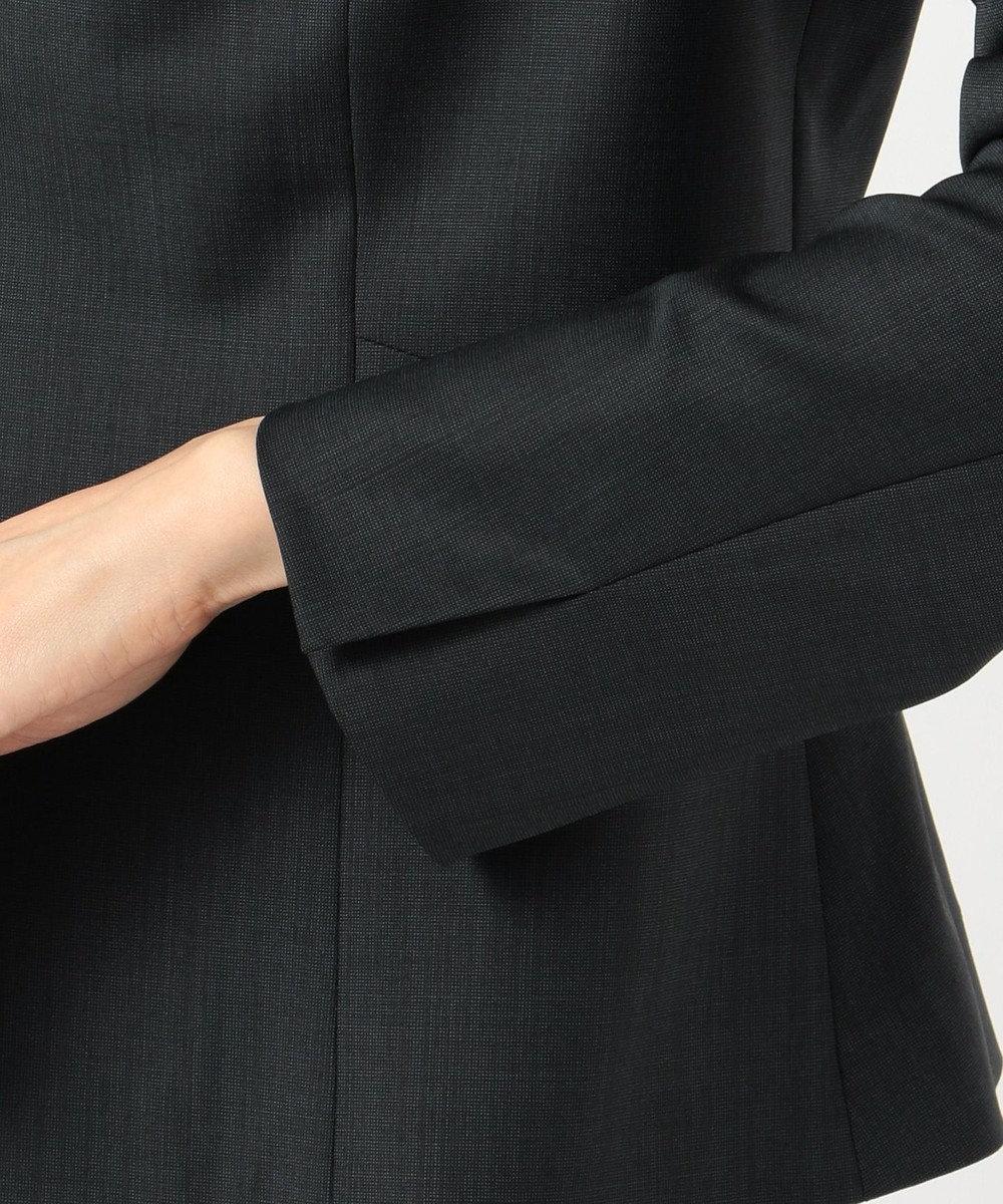 J.PRESS LADIES S 【スーツ】BAHARIYE ネイビー ノーカラージャケット ネイビー系