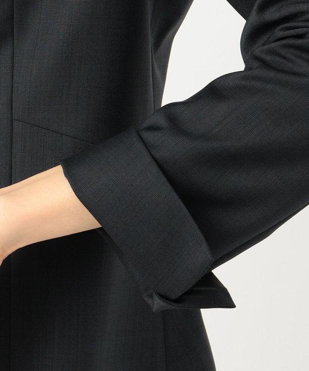 J.PRESS LADIES S 【スーツ】BAHARIYE ネイビー ノーカラージャケット