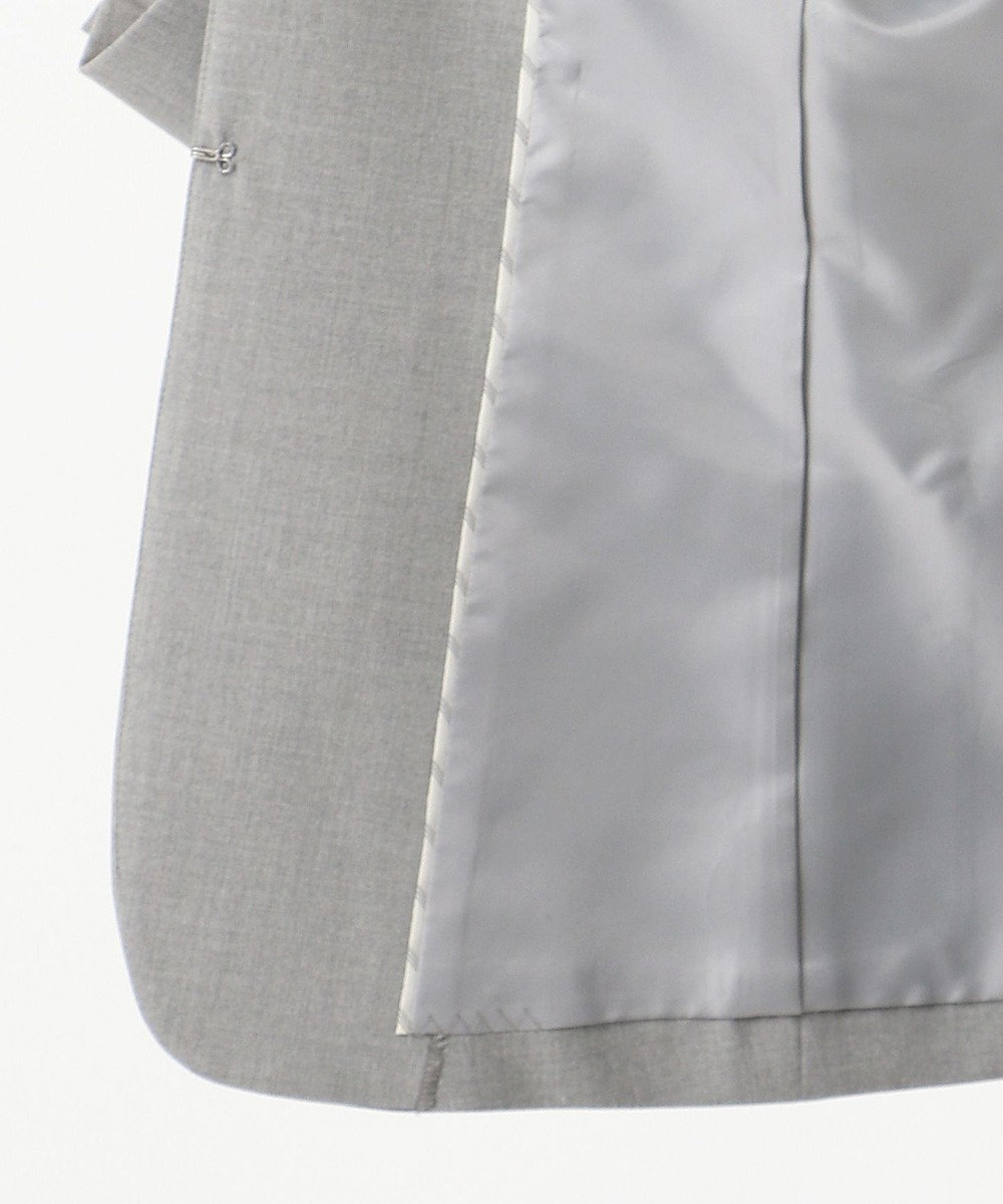 J.PRESS LADIES L 【WEB限定色あり】洗えるTRコンフォート ノーカラージャケット グレー系