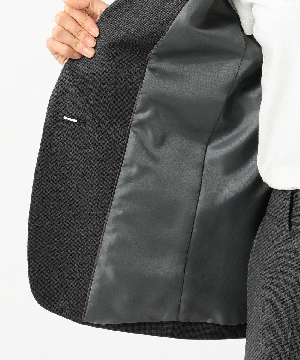 J.PRESS LADIES L 【スーツ】BAHARIYEストライプorチェック テーラードジャケット グレーチェック