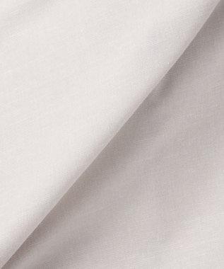 J.PRESS LADIES 【WEB限定色あり】ソリビアコットンリネン ノーカラージャケット ライトグレー系