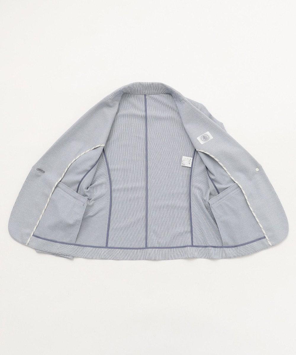 J.PRESS LADIES S 【吸水速乾】EVALETジャージー テーラードジャケット ネイビー系