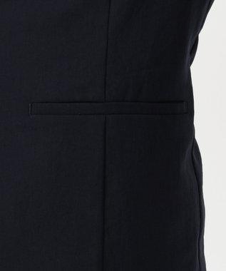 J.PRESS LADIES S 【洗える・しわになりづらい】ソリビア ノーカーラー ジャケット ネイビー系