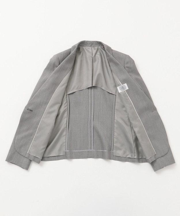 J.PRESS LADIES L 【スーツ対応】シルクレーヨンスーティング テーラード ジャケット