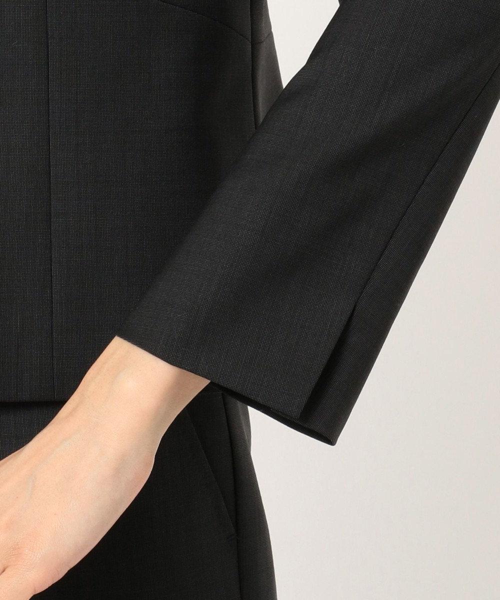 J.PRESS LADIES L 【スーツ対応】BAHARIYE2 ノーカラージャケット ブラック系