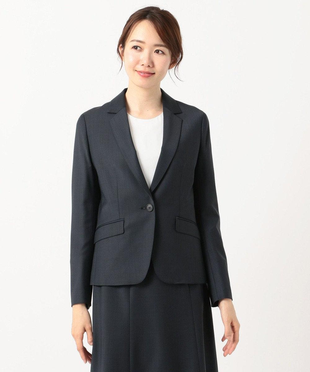J.PRESS LADIES L 【スーツ対応】BAHARIYE テーラードジャケット ネイビー系
