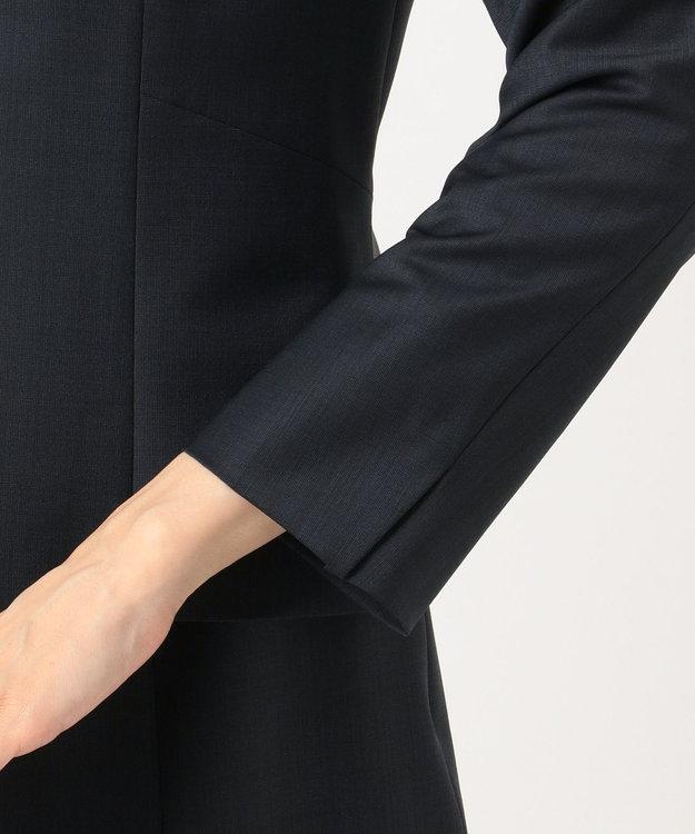 J.PRESS LADIES S 【スーツ対応】BAHARIYE ノーカラージャケット
