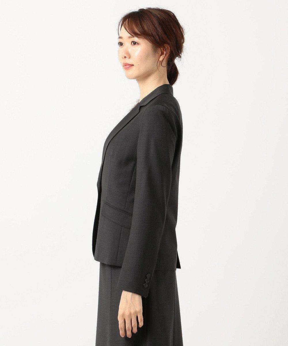 J.PRESS LADIES S 【スーツ対応】BAHARIYE テーラードジャケット グレー系