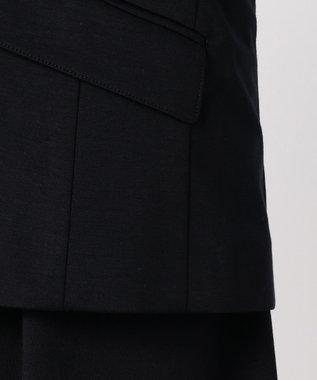 J.PRESS LADIES L 【ニオイ菌を抑える】ハイゲージモクロディー テーラードジャケット ネイビー系