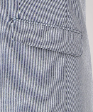 J.PRESS LADIES S 【吸水速乾】EVALETジャージー テーラードジャケット ネイビー系1