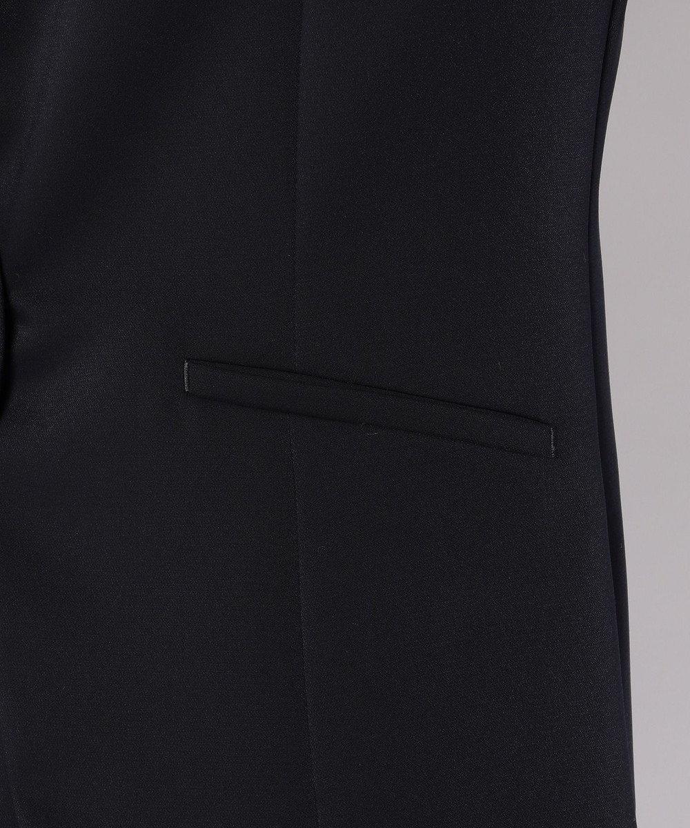 J.PRESS LADIES 【セットアップ対応】ヴィーナスダブルクロス テーラードジャケット ネイビー系