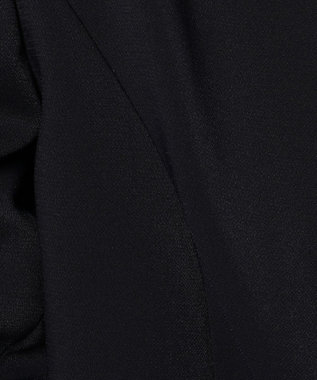 J.PRESS LADIES S 【セットアップ対応】ヴィーナスダブルクロス ノーカラージャケット ネイビー系
