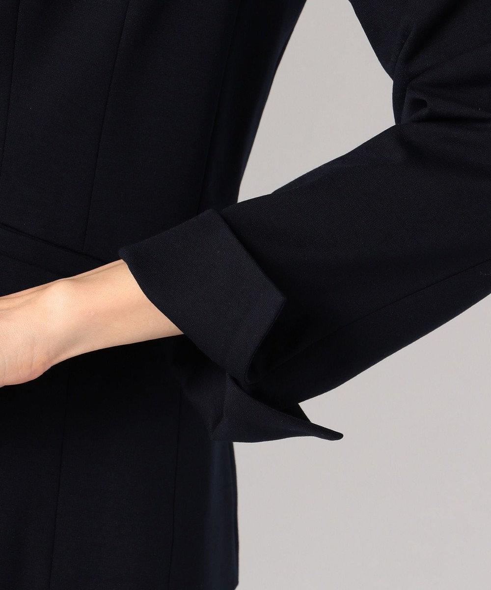 J.PRESS LADIES 【セットアップ対応】アルファクロスジャージ テーラードジャケット ネイビー系