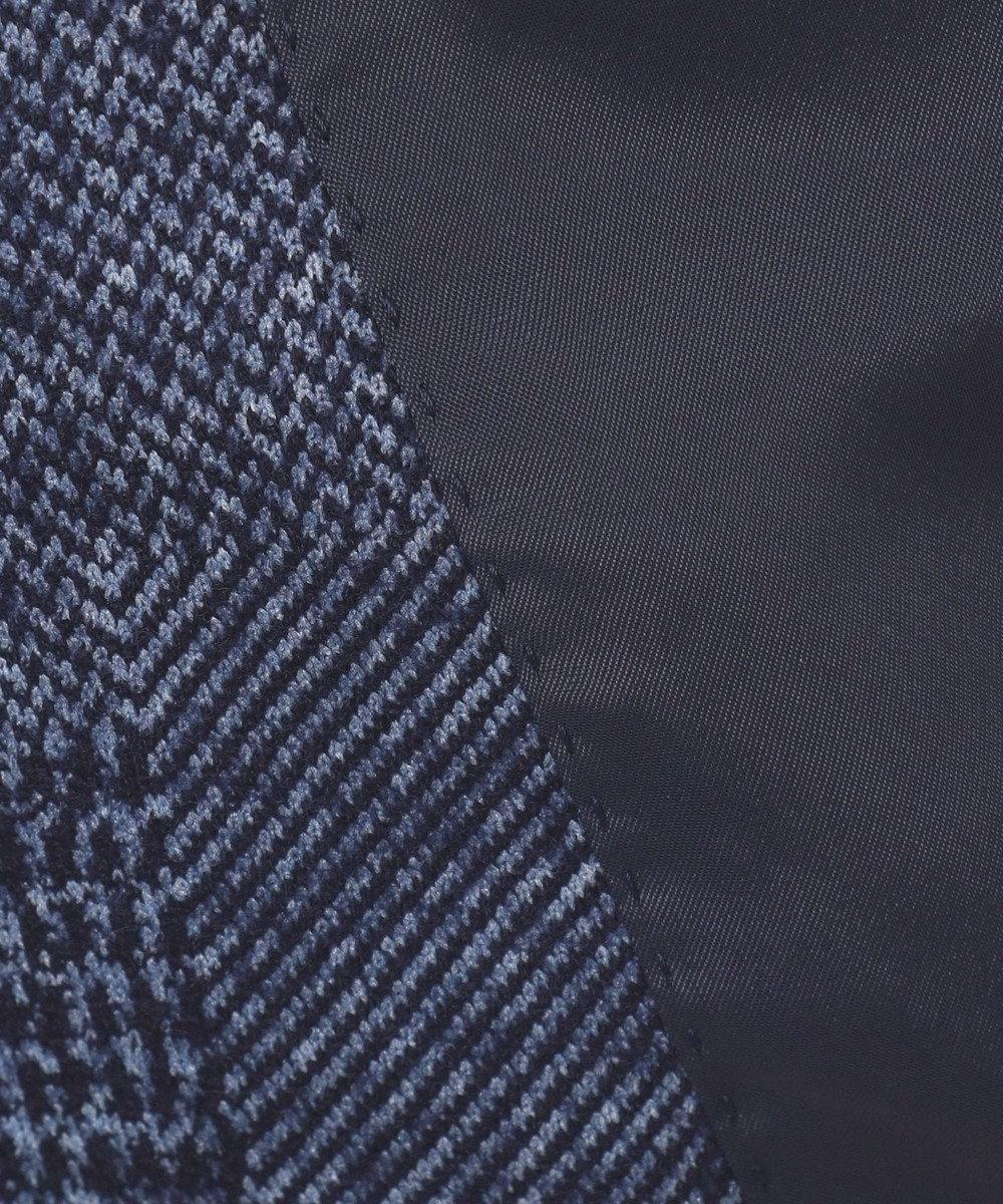 JOSEPH HOMME 【軽量ウールジャージー】パッチジャガードジャージー ジャケット ネイビー系3