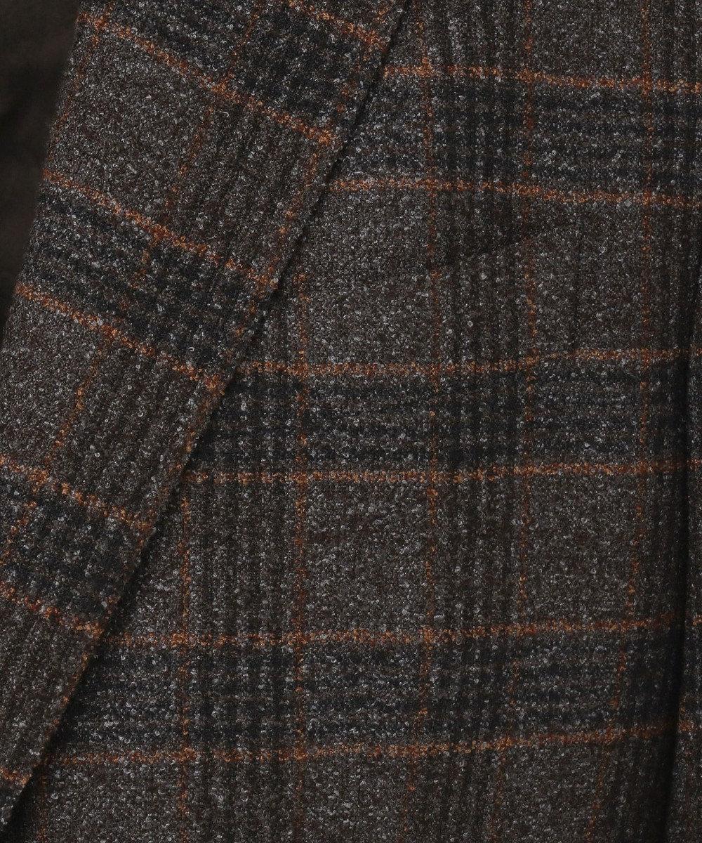 JOSEPH ABBOUD 【LUXURY COLLECTION】リングチェック ジャケット グレー系4