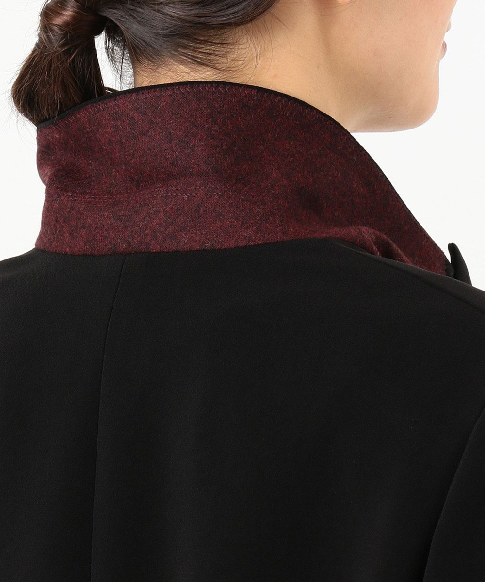 JOSEPH グレインドフルー ダブルジャケット ブラック系