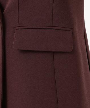 JOSEPH グレインドフルー ダブルジャケット ブラウン系